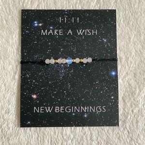 11:11 make a wish bracelet